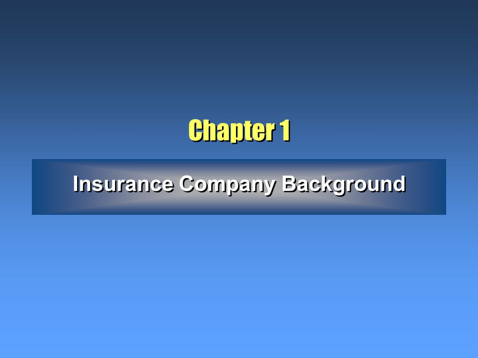Chapter 6 Working with Insurance Agents