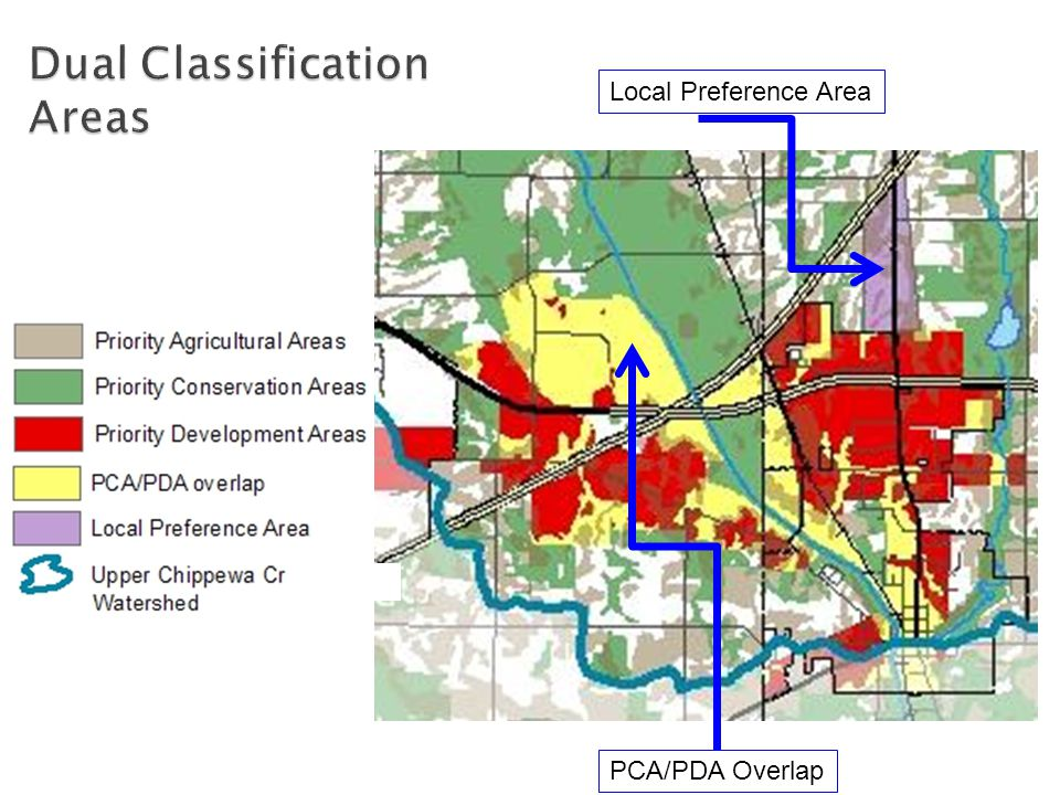 Local Preference Area PCA/PDA Overlap