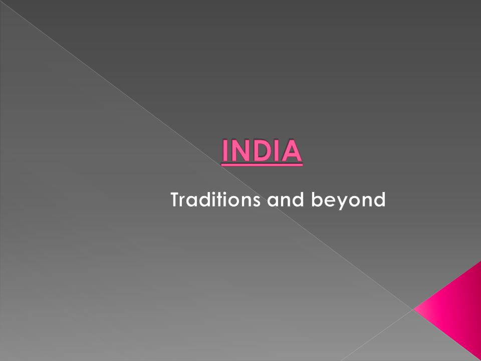 A saree is the traditional dress of the women in India.
