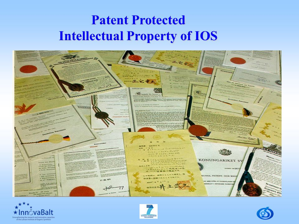 Patent Protected Intellectual Property of IOS