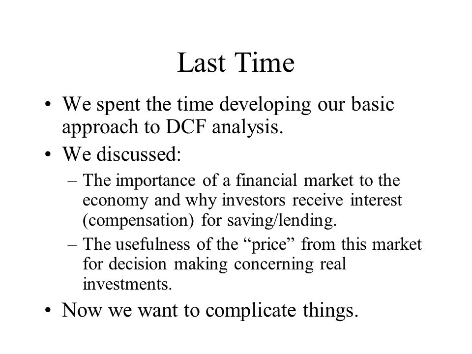 Alternate Compounding Periods n Interest may be compounded over periods other than a year.