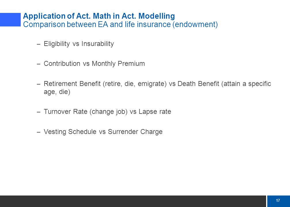 17 Mercer Application of Act. Math in Act.