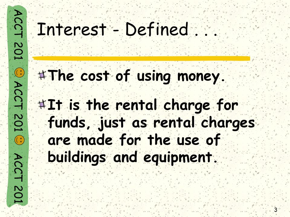 ACCT 201 ACCT 201 ACCT 201 14 Compound Interest...