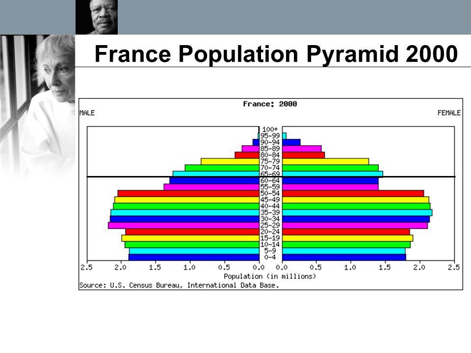 France Population Pyramid 2000