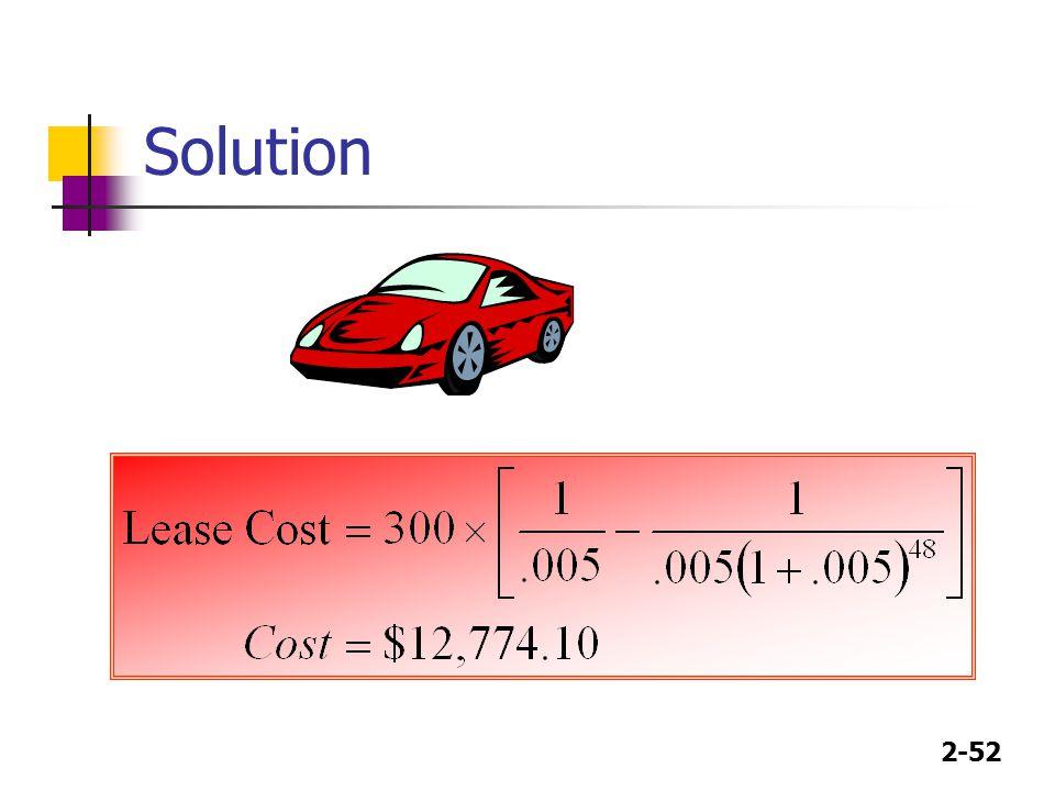 2-52 Solution