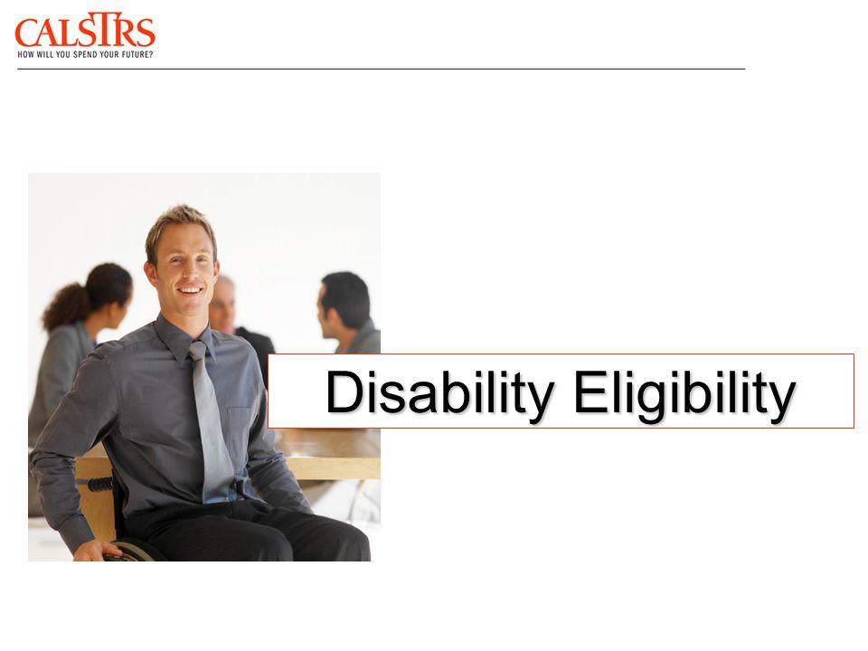 Disability Eligibility