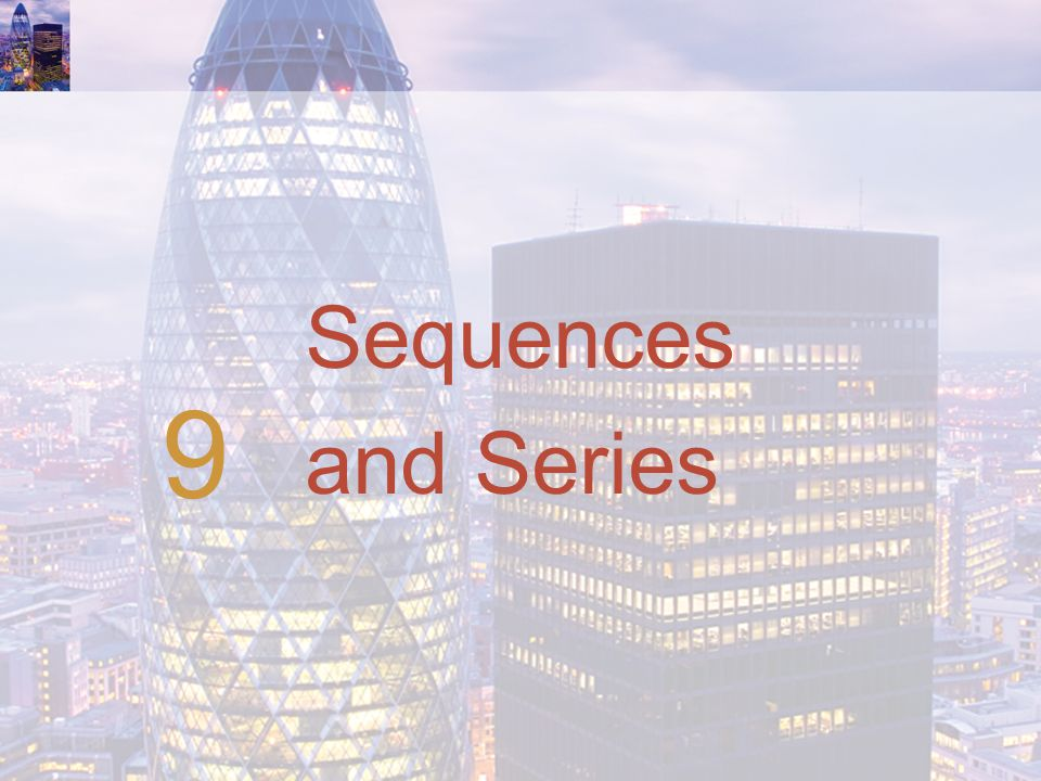 Sequences and Series 9