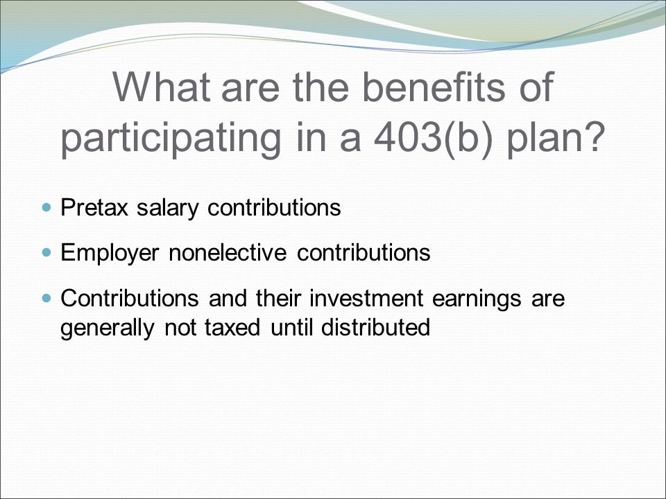 Can an employee take money out of a 403(b) plan.