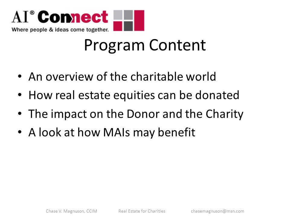 Charitable Remainder Unitrust (CRT) Chase V.
