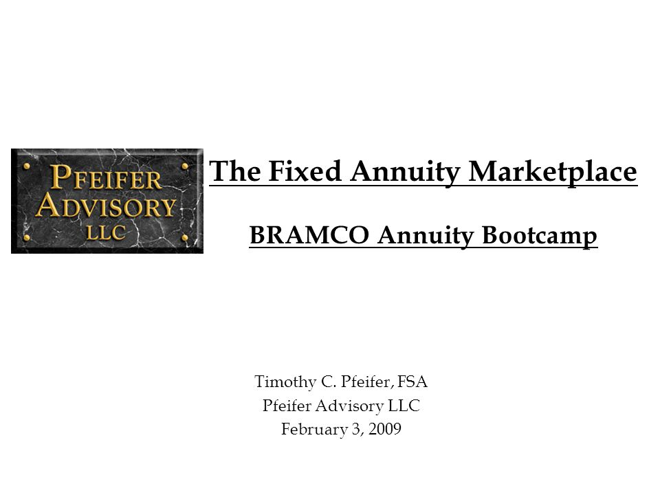 2 Areas of Focus Today Recent fixed annuity sales and broad trends Industry product and financial responses Product pricing discussion Role of capital in product pricing and management Investment portfolios The Future