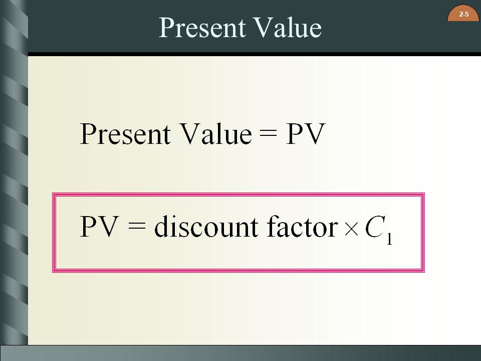 2-5 Present Value