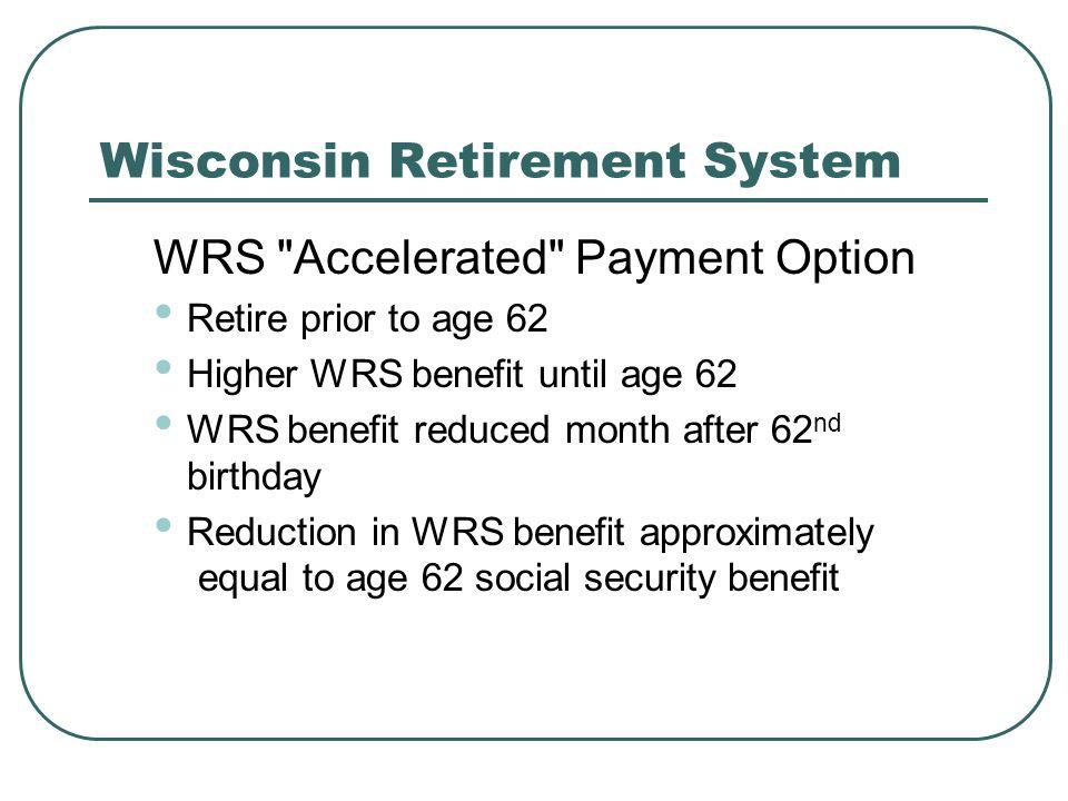 Wisconsin Retirement System WRS