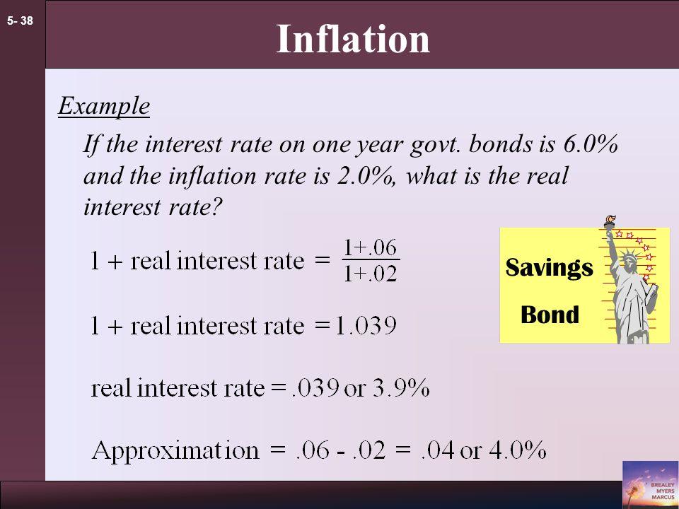 5- 37 Inflation approximation formula