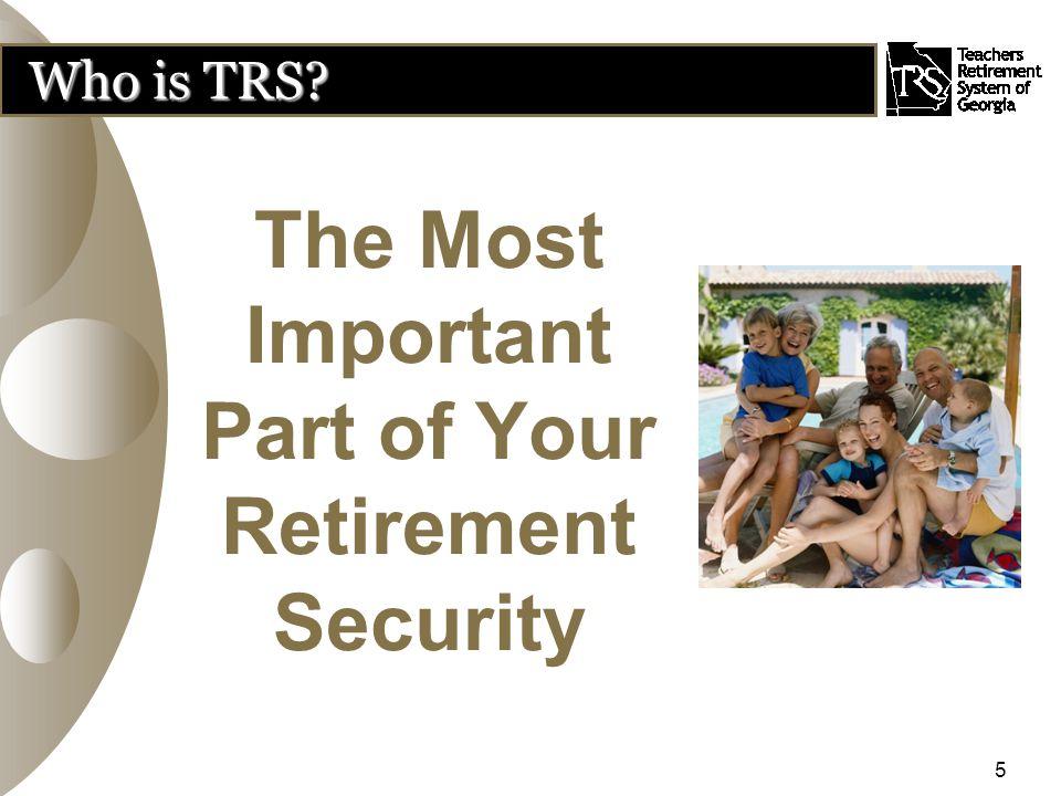 YOUR RETIREMENT Pre-Retirement Planning