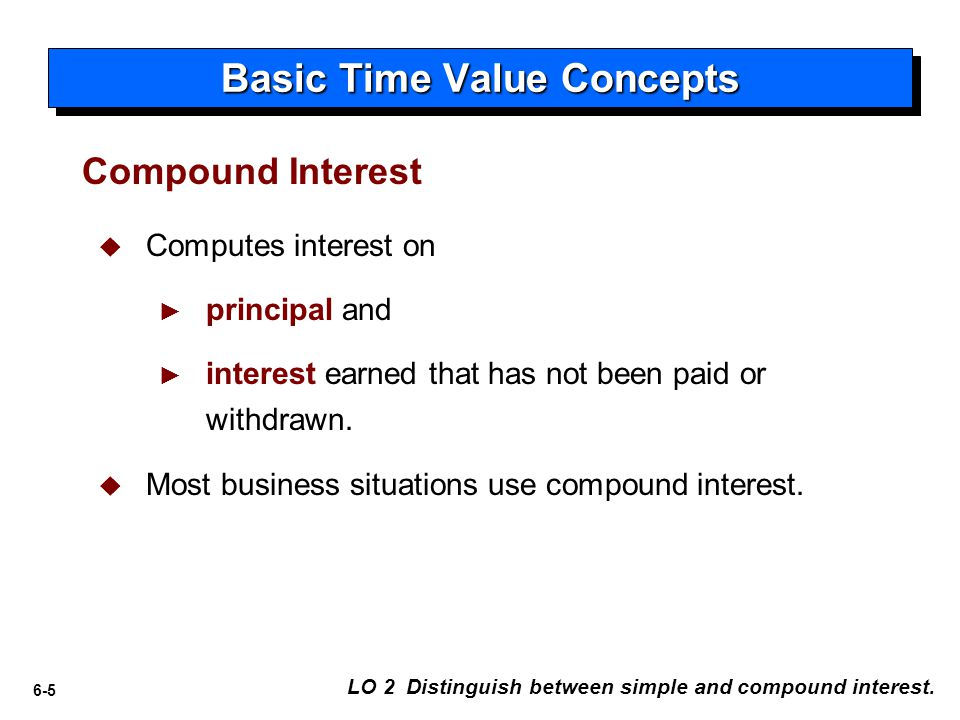 6-16 Single-Sum Problems Solving for Other Unknowns LO 5 Solve future and present value of 1 problems.