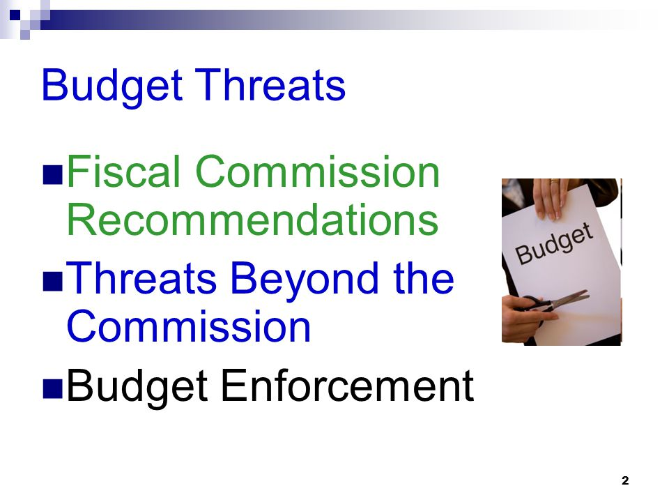 1 National Active and Retired Federal Employees Association (NARFE) Budget Cut Threats in the 112th Congress (2011-2012) By Dan Adcock Legislative Dir