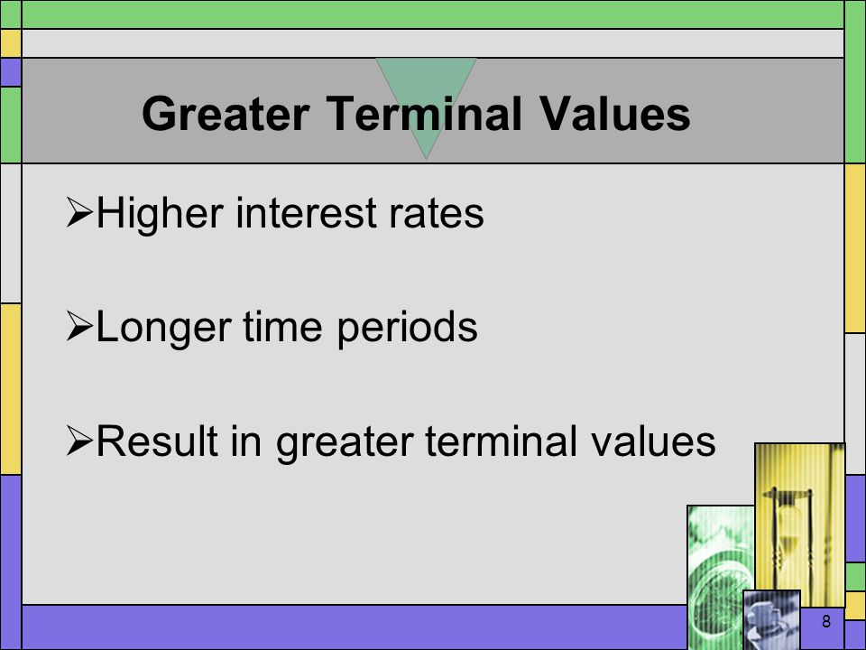 9 Greater Terminal Values