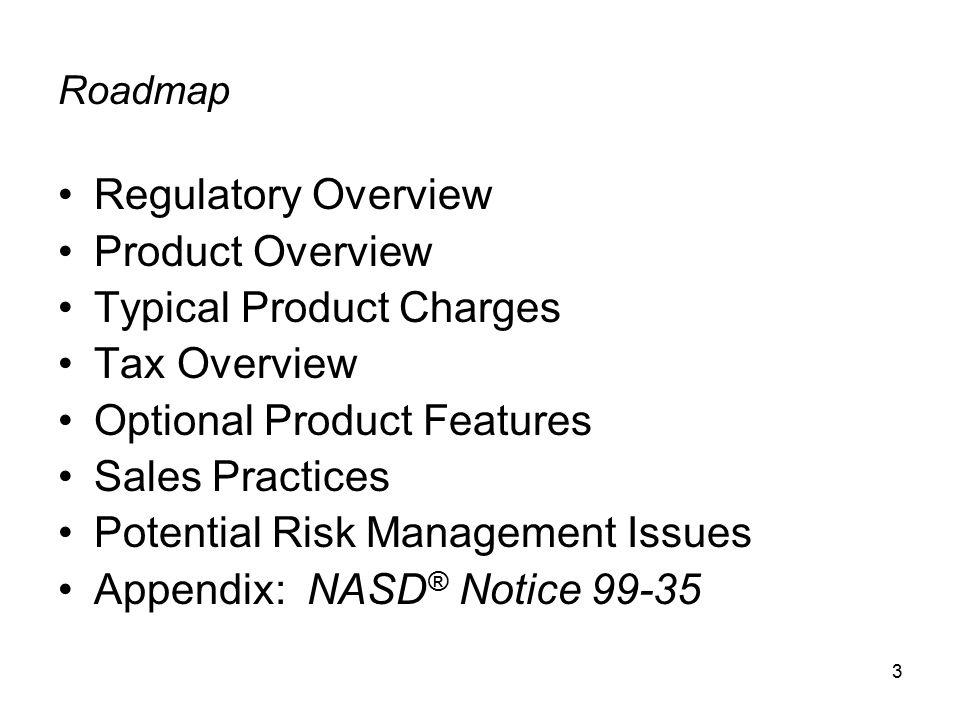 4 Regulatory Overview
