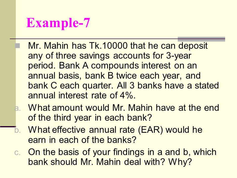 Example-7 Mr.