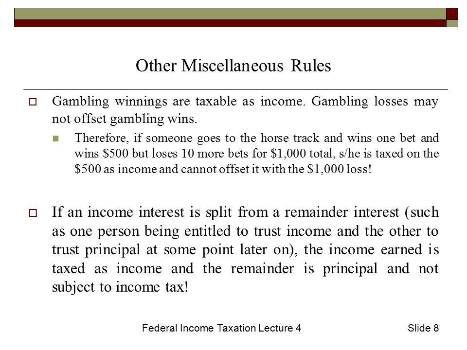 Gambling winnings subject income tax free downloading casino games