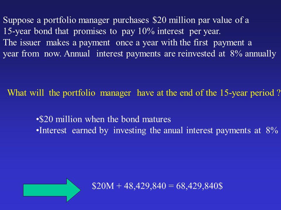 PRESENT VALUE OF AN ANNUITY 1 - [1/(1+r) t ] PV annuity = C ------------------- r