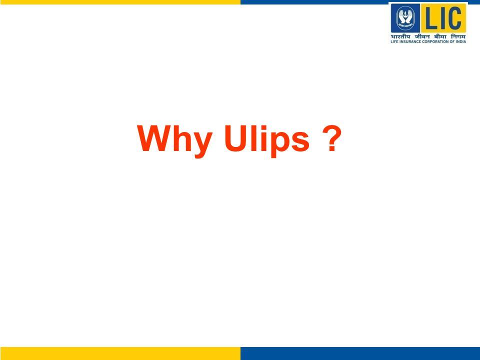 Why Ulips ?