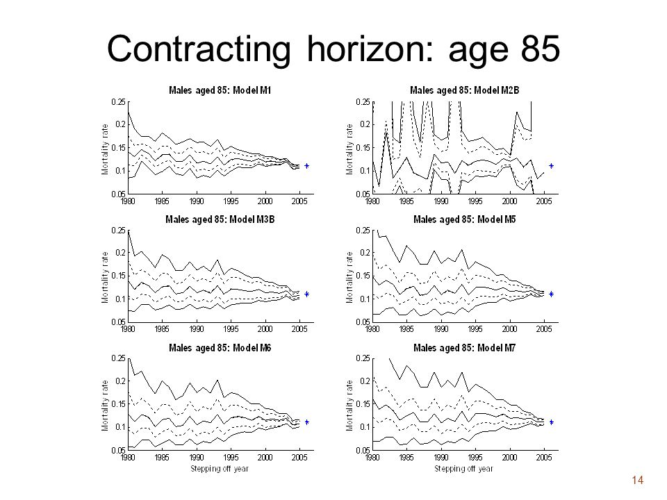 14 Contracting horizon: age 85