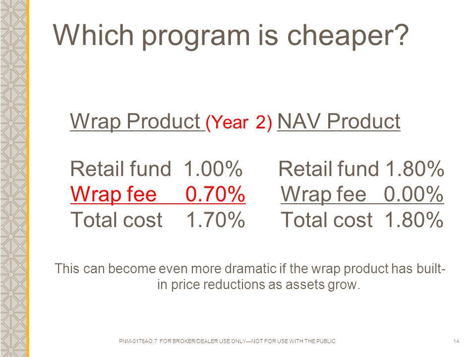 14 Which program is cheaper.