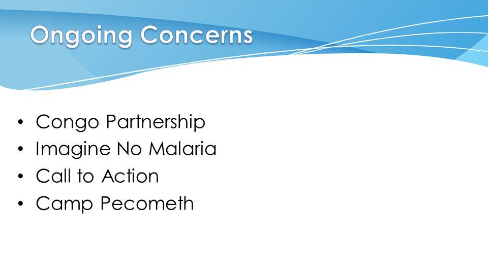 Congo Partnership Imagine No Malaria Call to Action Camp Pecometh