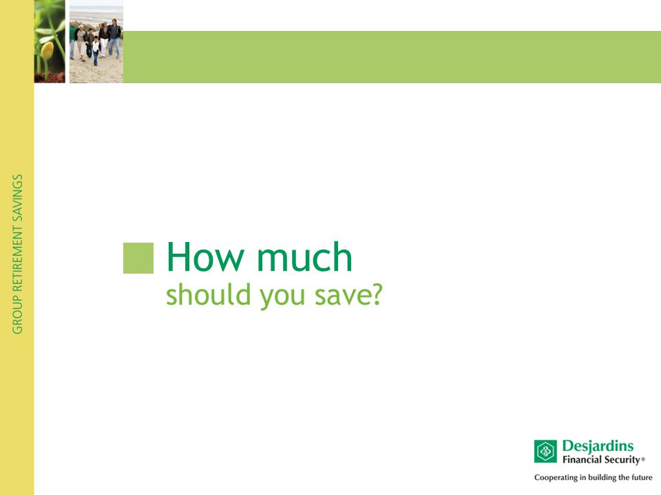 How much should you save?