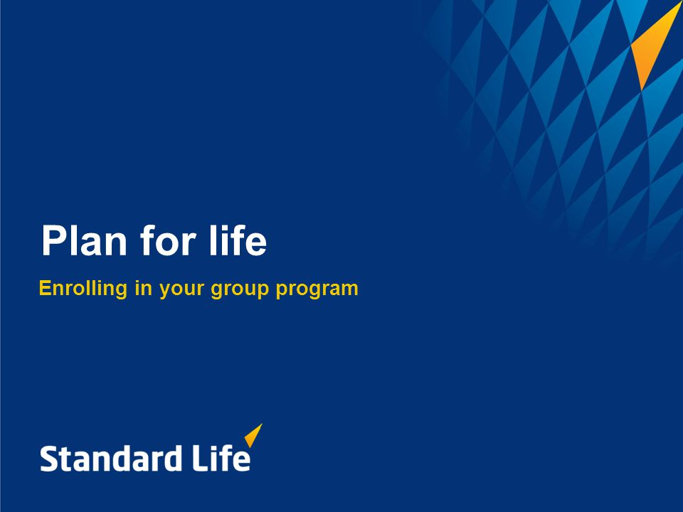Plan for life 53 Key sections of your form - Beneficiary designation