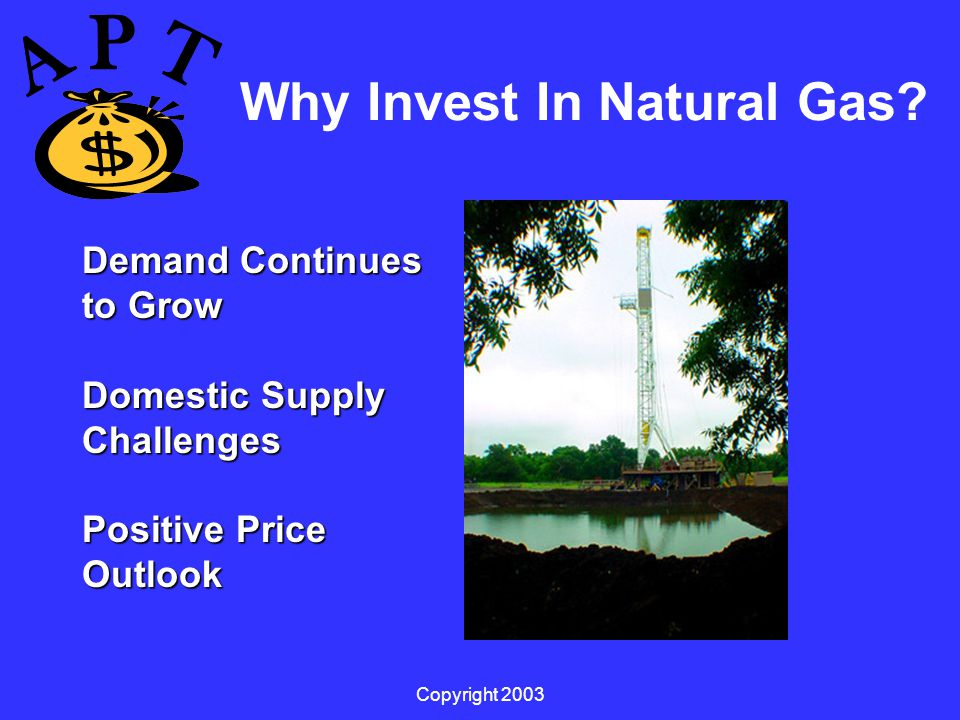 Copyright 2003 Why Invest In Natural Gas.