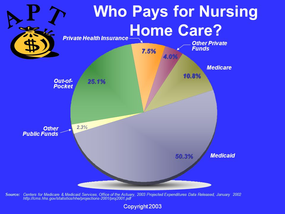 Copyright 2003 Who Pays for Nursing Home Care.