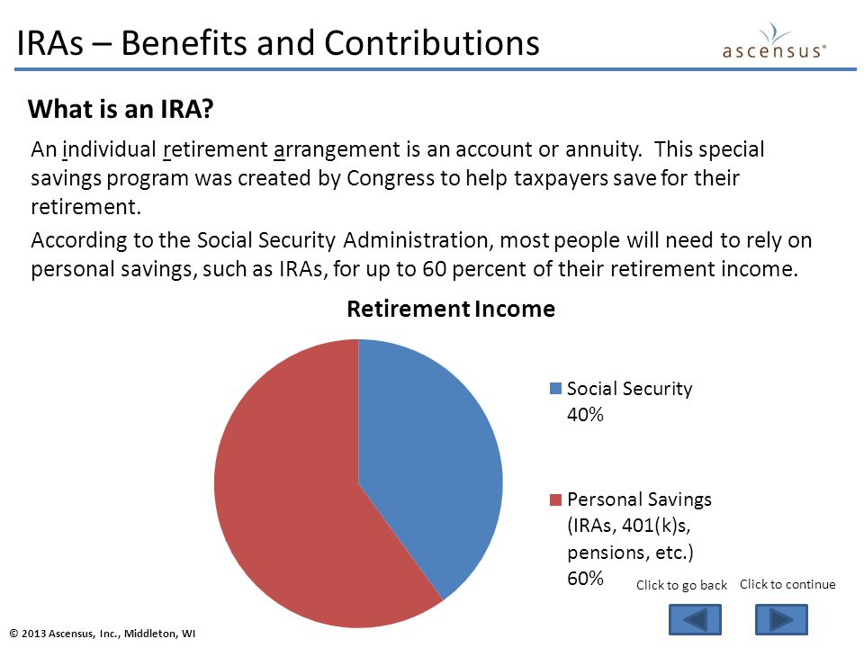 What is an IRA. An individual retirement arrangement is an account or annuity.