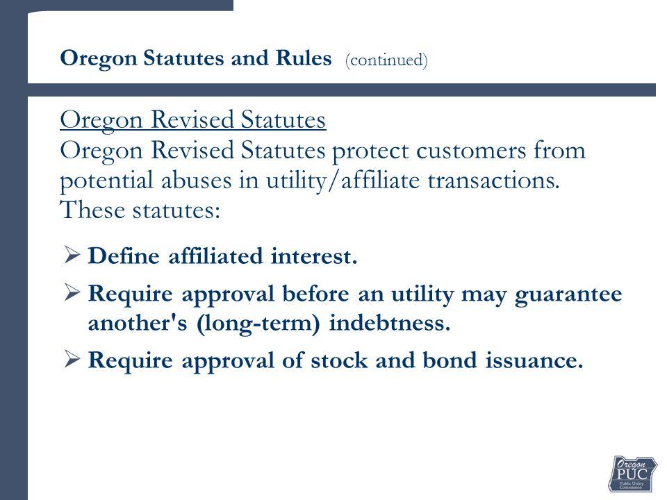  Define affiliated interest.