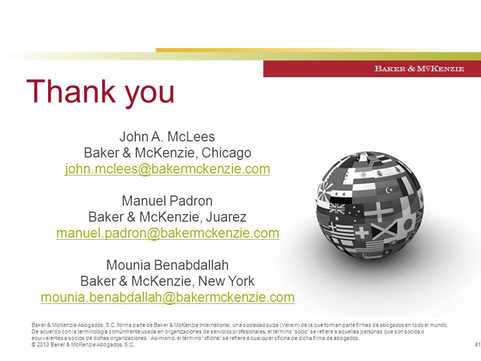 Baker & McKenzie Abogados, S.C.