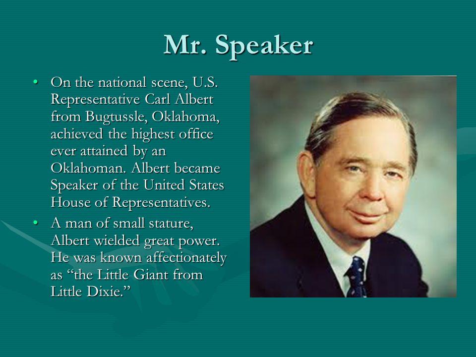 Mr. Speaker On the national scene, U.S.