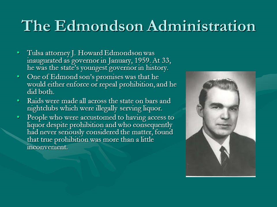 The Edmondson Administration Tulsa attorney J.