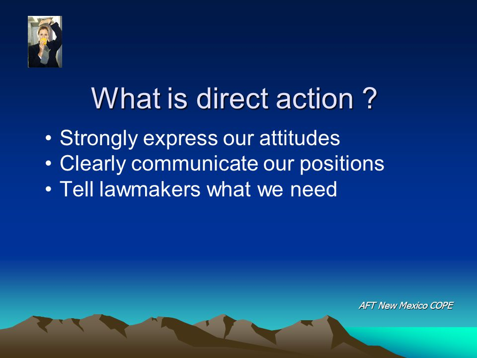 What is direct action .