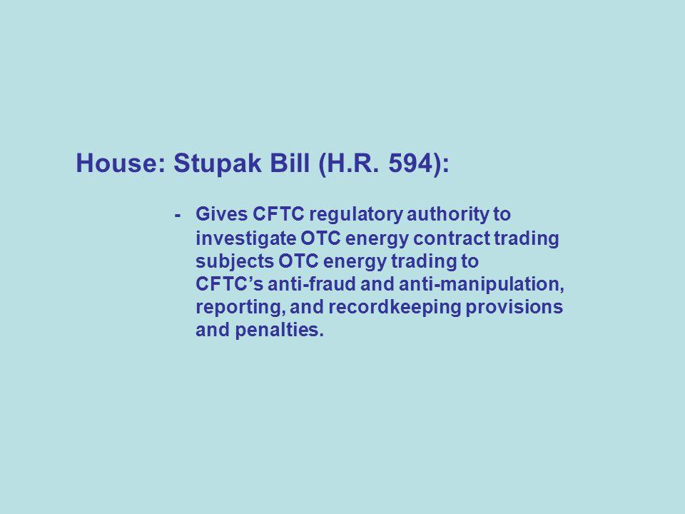 House: Stupak Bill (H.R.
