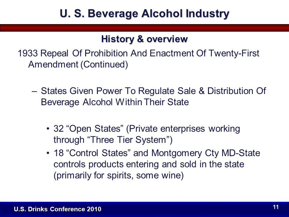 U.S. Drinks Conference 2010 U. S.