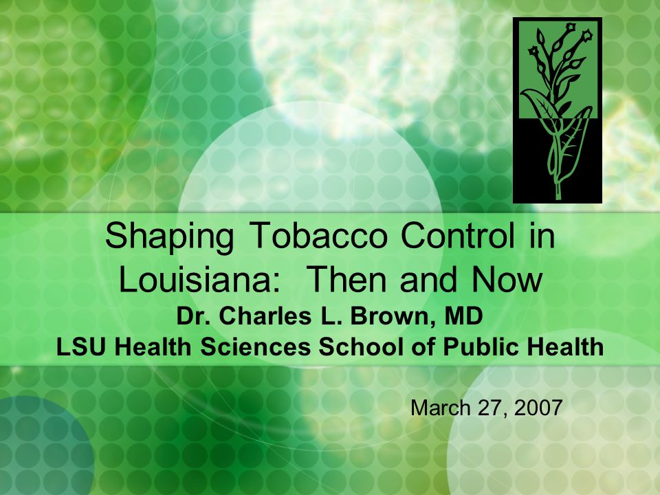Overview and Introduction Tobacco is the great public health story of our country The cigarette has made more money and caused more illness than any other consumer product The science of the manipulation of this agricultural product into a deadly drug delivery system needs retelling over and over.