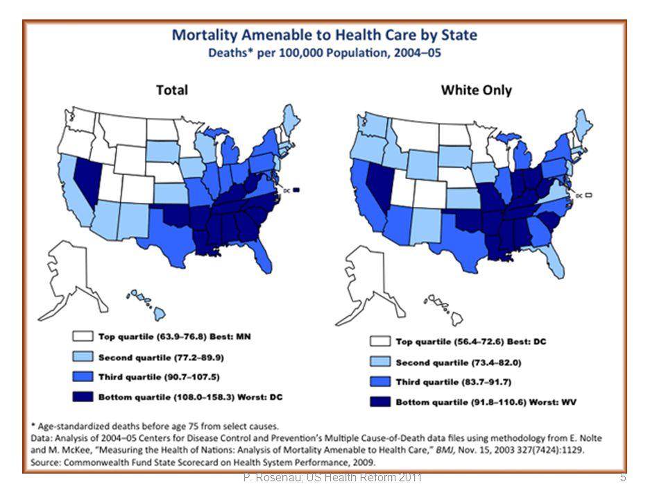 P. Rosenau; US Health Reform 201126