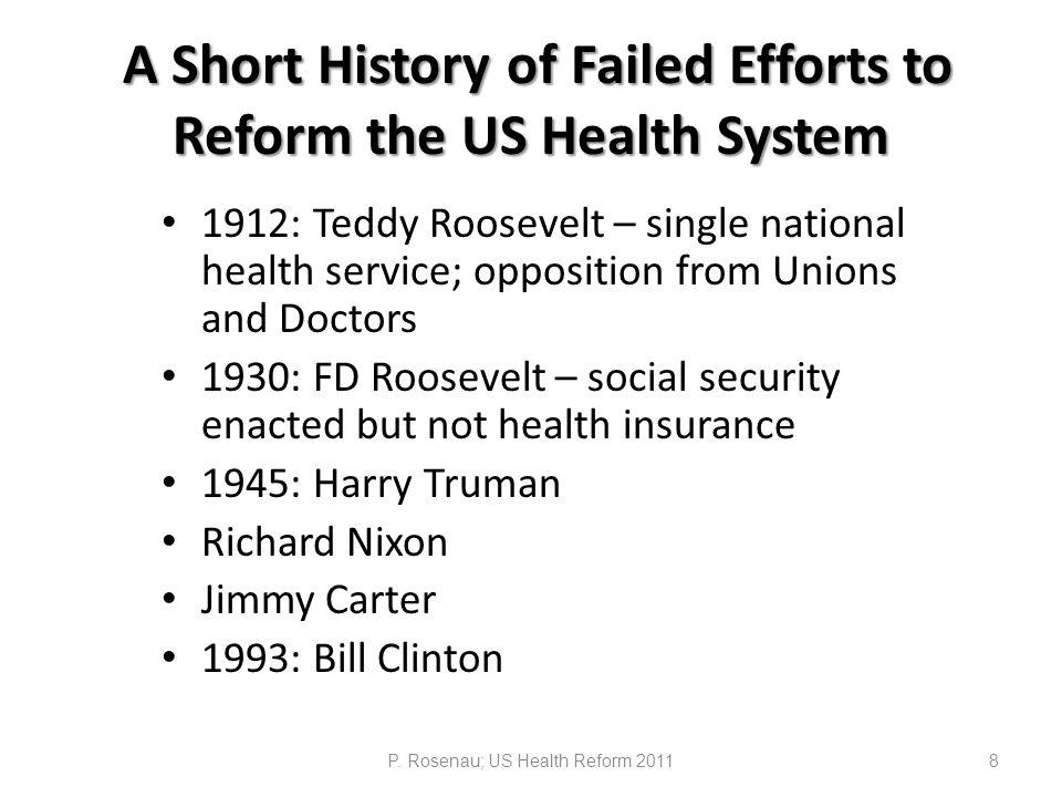 Exhibit 9.National Health Expenditures (NHE) Under Alternative Scenarios, U.S.