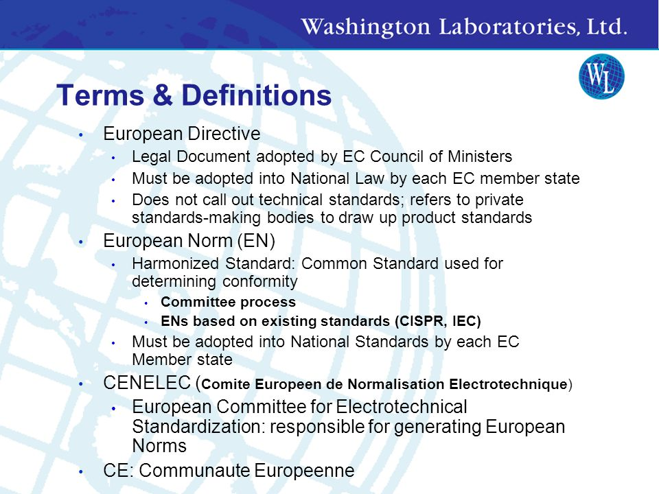 Applicable provisions From draft Guide for the EMC Directive 2004/108/EC dated 25 09 2006