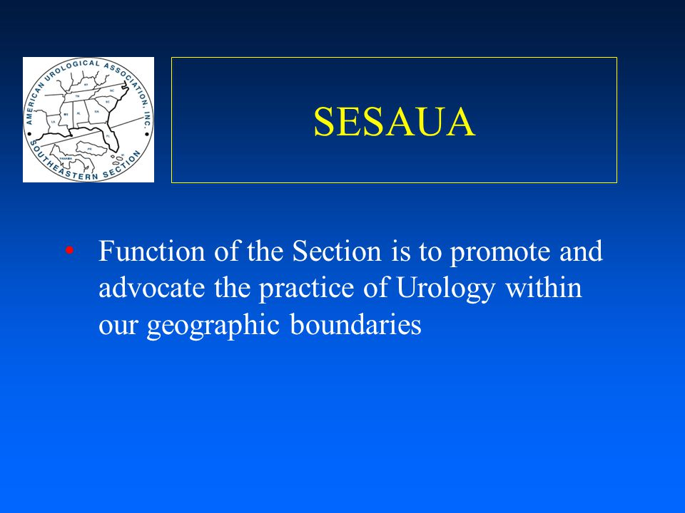 SESAUA Priorities Support leadership development Engage all members with relevant and timely scientific and socioeconomic education Understand membership needs and facilitate communication