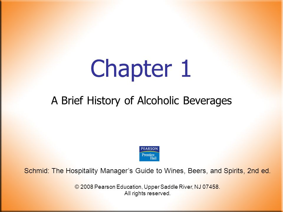 Schmid: The Hospitality Manager's Guide to Wines, Beers, and Spirits, 2nd ed.