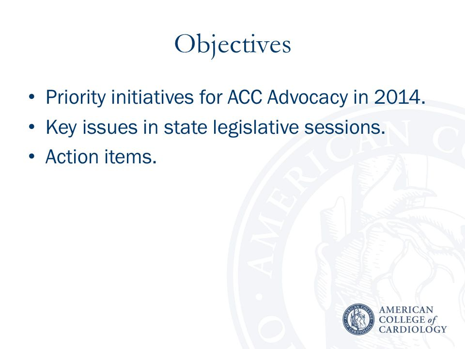 Cornerstone of ACC Advocacy Governors and chapter execs represented one-quarter of 2013 Legislative Conference attendance.