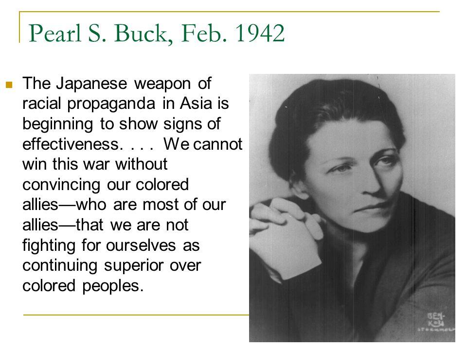 Pearl S. Buck, Feb.