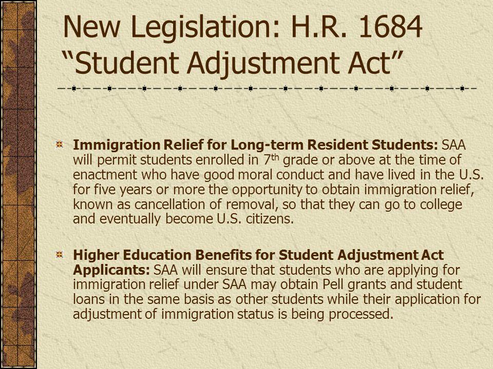 New Legislation: H.R.